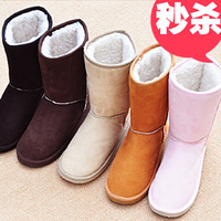 New arrival! Best Womens winter snow boots on sale  medium-leg boots snow boots with biggest discount.Free shipping