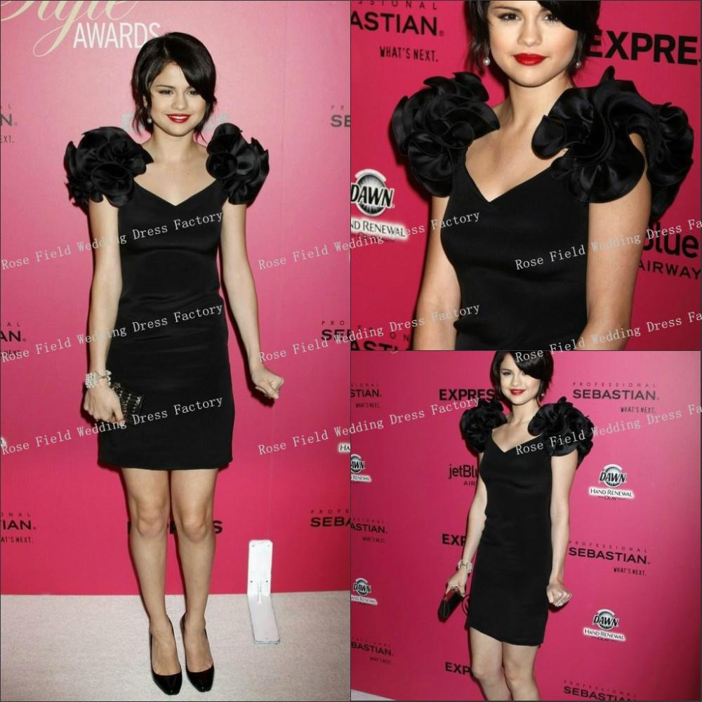 Black dress hollywood - Hollywood Red Carpet Black Dresses Photo 3