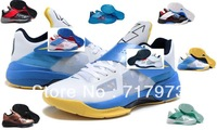 Free Shipping Famous Player Kevin Durant KD IV 4 USA White Black Men's Basketball Shoes,Fashion Sport Shoes