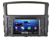 HD Car DVD GPS Navi Navigation Radio RDS Player Autoradio Headunit  For 2008-2012 Mitsubishi Pajero Free Camera shipping