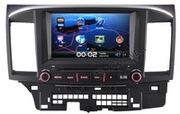 HD Car DVD GPS Navi Navigation Radio RDS Player Autoradio Headunit  For 2008-2012  Mitsubishi Lancer Free Camera shipping