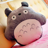 Free shipping Totoro cartoon hand warmer pillow plush toy Stuffed Toys
