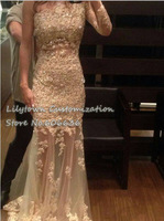 New 2014 Sheath Open Back Single Sleeve Long Lace Wedding Dresses Beaded Bridal Wear Court Train Good Quality One Shoulder