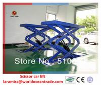 2013 hotsale cheap inground scissor car lift WSG3200