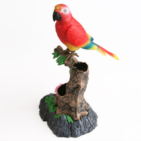 New Arrival 1set Free Shipping,learning to speak ,parrot,singing birds voice control,talking electronic pet,recording simulation