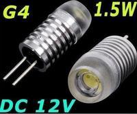 30pcs G4 LED Light Bulb 1.5W high power led Chip 12V DC New Allimium Body Good quality Long life