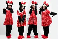 Minnie Mouse Animal Onesies Onesie Adult Unisex Fashion Cosplay Costumes Pyjamas Pajamas