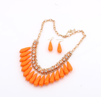 Mix Orders Over 10$ Free Shipping! Fashion summer fashion drop short necklace fashion design fashion cxt9178