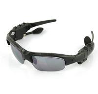 New Arrival Bluetooth + FM radio-Headset Sunglasses Mp3 Player-2GB Drop Shipping