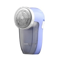 Hot Povos PR321 Blue Fuzz Lint Remover Rechargeable Electric Woolen Clothes Trimmer Shaver Free Shipping In Stock