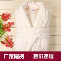 Free Shipping bathrobes Winter coral fleece robe terry bathrobes women