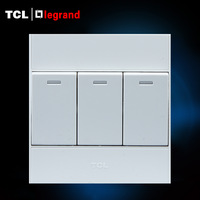 Tcl luogelang electric switch socket panel a6 series double control switch