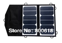 solar factory directly selling 13W high efficiency sunpower flexible solar panel with dual voltage controller