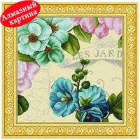 Free shipping DIY diamond painting diamond cross stitch kit Inlaid decorative painting Diamond embroidery  flowers DM1203028