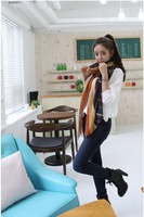 free shipping,wholesale NEW Women's Fashion Scarf Soft Girl Sweet Style Love Graffiti Chiffon Scarf Shawl 160x50cm R2