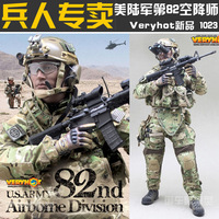 action figure US ARMY-82nd-Airborne-Division 1023#