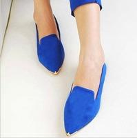 About 1 size smaller Euro size36-40 women's shoes ladies single shoes  women flats   qianjinwen 3 colors