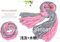 New Fashion autumn -summer ice silk Scarf women winter warm Tassel Scarf Wrap Shawl scarves Lovers love  styles