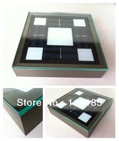 2W Solar LED Brick Light CE&RoHS Tempered Glass Aluminum Outdoor IP67 LED Underground Lamp 5 Years Lifepan DHL Free Shipping