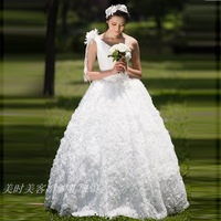 2013 bridal wear oblique sparkling diamond thin waist lace married wedding dress evening dress cheongsam