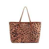 Hot Sale Leopard Print Women's Handbag Korean Style Messenger Bag PU Leather Office Lady Bag Mother Bag