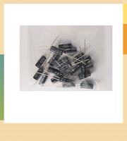 Free Shipping 23 value electrolytic capacitors Assortment Kit 160pcs (1~2200uF)