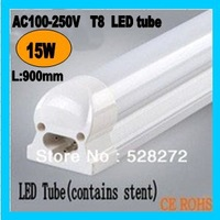 Free shipping 4pcs/lot 15W t8 Integration Tube ,900mm led tube,Top quality SMD2835 Epistar1450lm aluminum alloy tube CE&ROHS