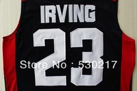 Free Shipping,Basketball Jersey,USA 2012 Olympic Games #23 Kyrie Irving Jersey,Embroidery logos,Size 44-54,Accept Mix Order