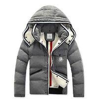 Men's Luxury Fur duck down Winter Trench Coat Jacket Parka Overcoat