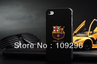 UEFA Champions League - Barcelona Cover Case Skin For Apple iPhone 4 4G 4S MX  Black