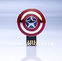 LP10 8GB 16GB 32GB 64GB Full Capacity Avengers Captain America Shield  USB 2.0 Memory Flash Pen Drive Car/Thumb/Pen