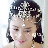IN STOCK  Latest  Luxury Tiara Wedding Jewelry Bridal Tiara Wedding Tiara Bridal Forehead Tiara