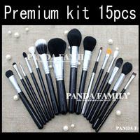 Meke up brushes Professional foundation brush powder blush eye shadow brush Premium Kit 15pcs/set