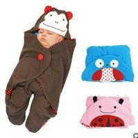 Wholesale - - Children Baby sleeping bag  New Fashion bads baby Cartoon blanket 3designs -DZY241A