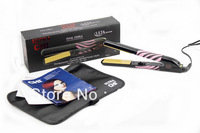 Postl from China free shipping !hot selling !Pink zebra hair straightener Q011