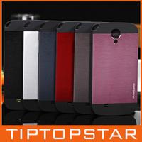 High quality made in korea Motomo ino safari leopard black border metal aluminum phone case for samsung S4