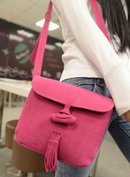 2014 autumn and winter fashion new Korean version of casual candy frosted Ms. portable shoulder bag handbags women bag