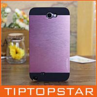 High quality made in korea Motomo ino safari leopard black border metal aluminum phone case for samsung note 3