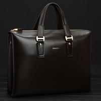 Hight quality designer handbag Free shipping 2013 men genuine leather handbags Dree messenger bag cowhide men's briefcases
