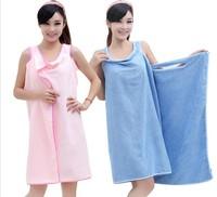 Rondom Color Magic magicaf towel tube top bath skirt super absorbent fiber texture lovers bathrobe
