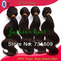 FREE SHIPPING wavy unprocessed Brazilian virgin human hair extension factory price 12in to 26in 100g/pc 200g/pack hair wefts