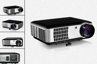 Remote Portable DLP Smart Mini Projector Support USB AV SV VGA HMDI PR/PR/Y Home cinema Multimedia projector