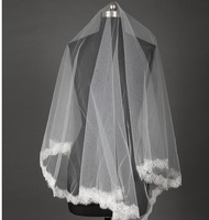 2013 wedding formal dress bridal accessories exquisite long veil