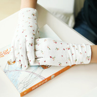 Fresh elegant 2014 women's uv sunscreen gloves gift gloves