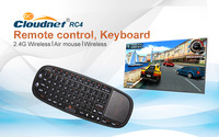 New Arrival  RC4 RT-MWK13 2.4Ghz Fly Air Mouse Wireless Keyboard Combos Remote FOR Android mini PC TV Box
