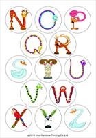 A5 Animal Alphabet decals