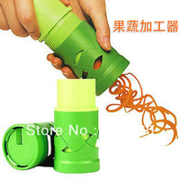 Free shipping 1set New Vegetable Fruit Twister Cutter Slicer Processing Kitchen Utensil Tool