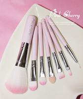 Free Shipping Professional 7pcs Makeup Brush Set  Makeup Brushes & tools Make up Brushes Set Brand Make Up Brush Set Case