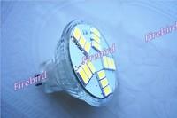 4 x MR11 7W led spotlight, 15pcs 5630SMD high power white and warm white led bulb, AC/DC12V backlights
