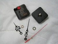 200pcs/lot  DHL /EMS Free Shipping Mute Quartz Clock Movement Kit Spindle Mechanism With Hands High Accuracy Wholesale